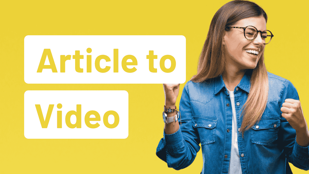 Tutorial to turn any text into a video